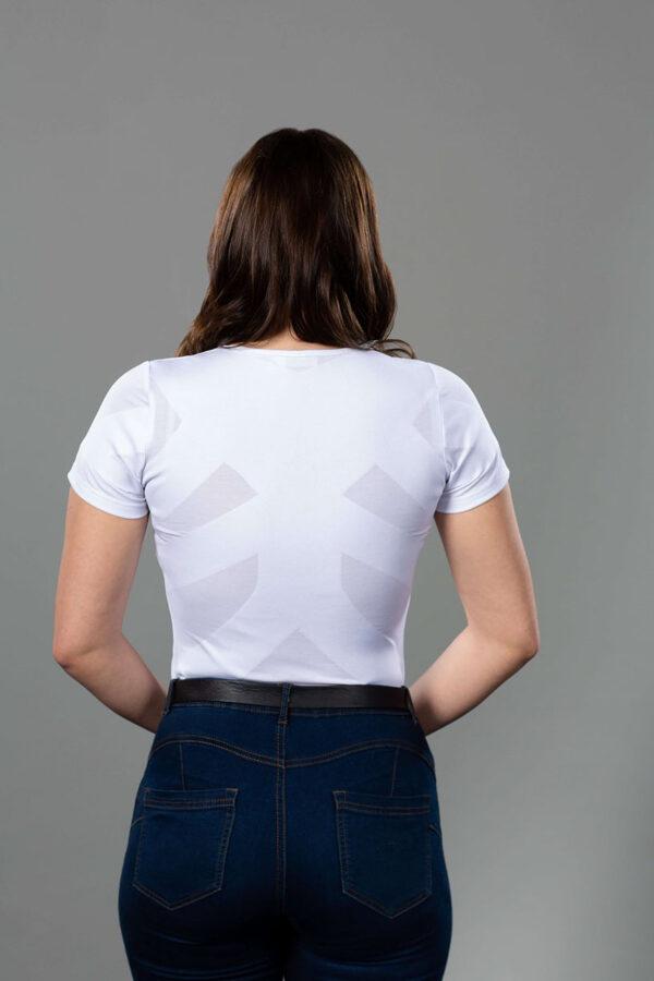 Correcty sieviešu T-krekls balts