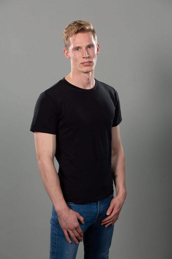 Correcty vīriešu T-krekls melns